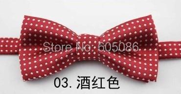 e44d42889ff9b HOOYI 2019 Dot garçons boîtes nœud papillon papillon polyester nœud papillon  pour bébé rouge enfants cravates cravate cravate cravate cravate