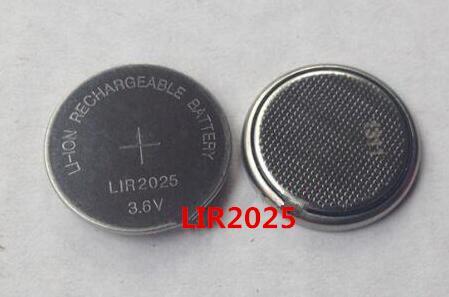 NOUVELLE batterie LIR2025 3.6 V Rechargeable au lithium batterie 2025 Li-ion batteries 10 pcs/lot