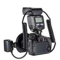 Yongnuo YN24EX TTL Macro Flash Speedlite with Adapter Rings for Canon EOS 5DII 5DIII 650D 600D 450D
