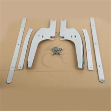 цена на New Windshield Windscreen Bracket Kits For Harley Touring Road King FLHR 94-2018 FLHRS FLHRCI FLHRC Classic 98-13 Motorcycle
