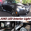 4pcs X free shipping Error Free LED Interior Light Kit Package for nissan juke accessories 2011-2016