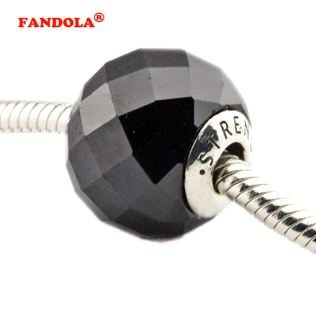 Strength Beads Fits Pandora Essence Bracelets 925 Sterling Silver Jewelry Charms Free Shipping