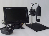 Monitor incluído HD 1200X AV handheld endoscópio De Alta Resolução Microscópio eletrônico 8 LED Porto AV Aplicável Monitores TV LCD|handheld endoscope|av endoscopeendoscope hd -