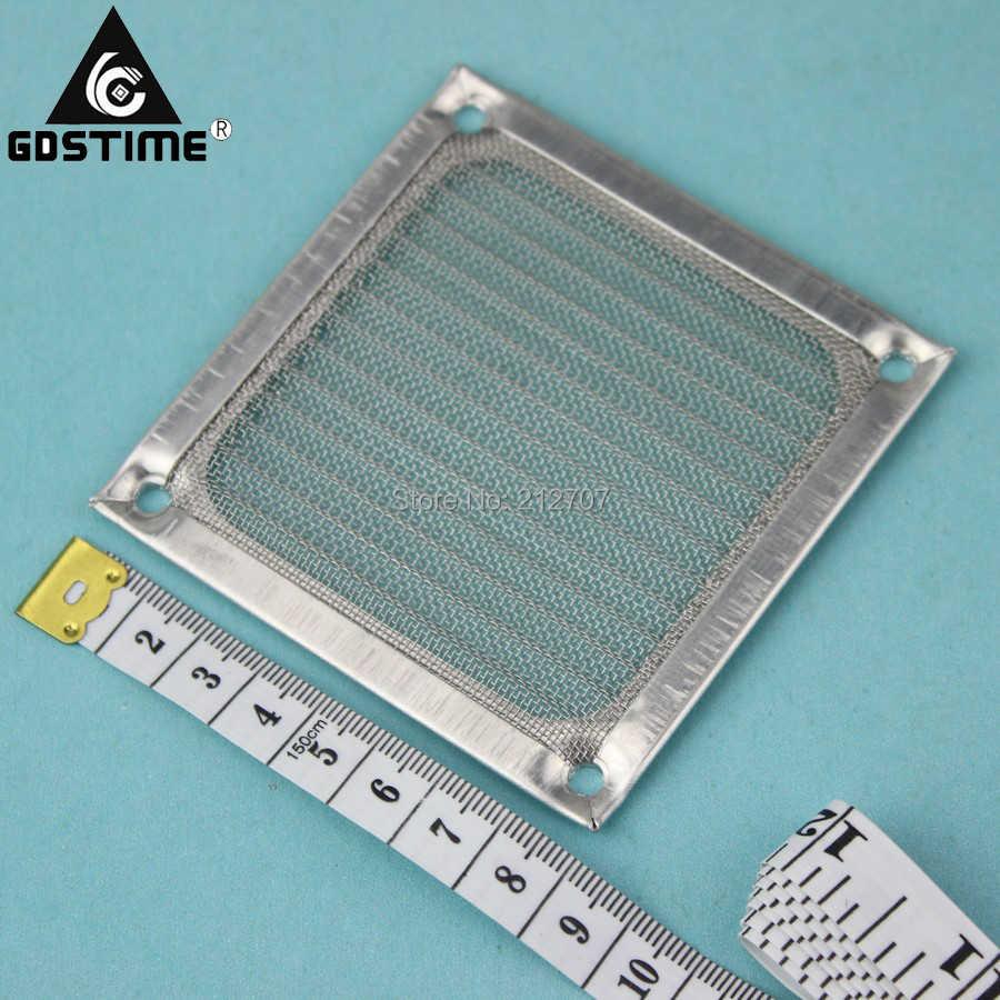 Gdstime 8センチpcファンダストフィルター80ミリメートル金属防塵コンピュータケースメッシュガード