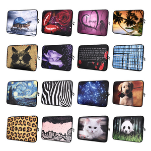Fashion Design Laptop Bag Soft Notebook Sleeve Case Cover For HP Lenovo Acer Dell MacBook Air Pro 13 14 15 17(China)
