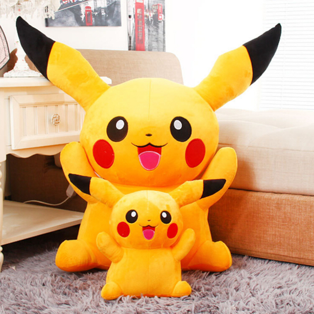 Free Shipping 40cm Special Offer Pikachu Plush Toys High Quality Very Cute  Plush Toys For Children's Gift HT1387