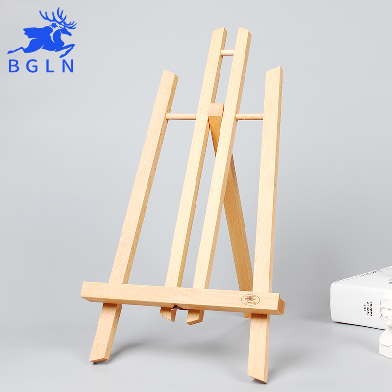 BGLN Small Wooden Easel 20.2*25*40cm Tabletop /Photo Advertisement Exhibition For Painting Mini Art Easel Stand Art Supplies