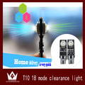 Night Lord  2 pcs/lot  ! Flash LED RGB T10 194 T10 w5w LED Seven Generations Ultimate w5w LED Width Lamp 18Kinds of Patterns