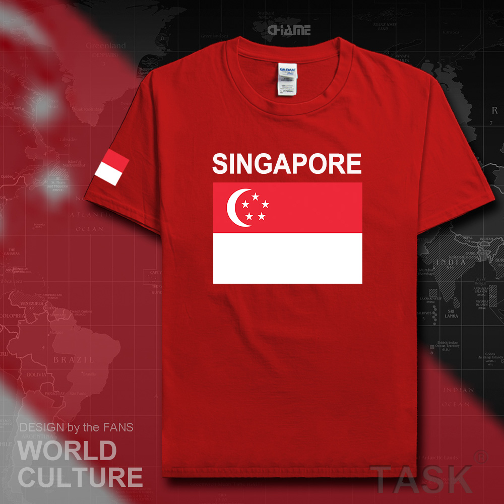 Design t shirt online singapore - Design T Shirt Online Singapore Singapore Men T Shirt Fashion 2017 Jerseys Nation Team Tshirt Download