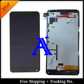 Free Shipping 100% tested Original For Microsoft Nokia 640 Lumia 640 LCD Display touch screen Assembly with Frame -Black
