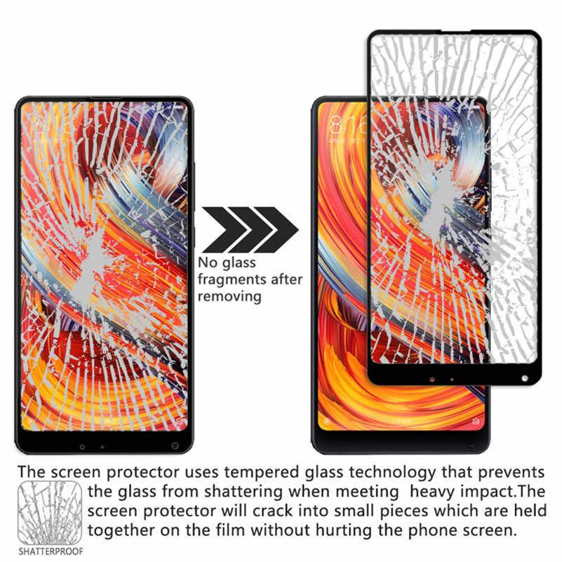 2.5D 9 H полное покрытие из закаленного стекла для Xiaomi mi Mix 2 Защитная пленка для экрана полное покрытие защитное стекло для Xiaomi mi x2
