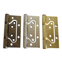 4 Inch Stainless Steel Lash Hinges 3mm Thickness Silvery Golden Or Bronze Door Furniture