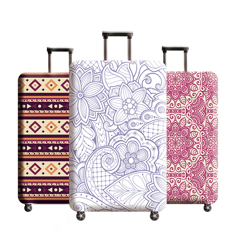 Luggage Protector Cover High Quality Suitcase Elastic Protective Covers Trolley Case Dust For 18-32 Inch Traveling Accessories