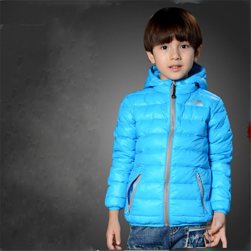 ФОТО Winter Children Down Jacket Set 2017 New Fashion Boys and Girls Thick Warm Down Jacket All For Children Clothing And Accessories