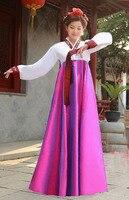 2016 Nowy Koreański Hanbok Tradycyjne Ubrania Sukienki damskie Sukienki Wizytowe Azja Odzież Suknie Wieczorowe Singer Kostium Cosplay