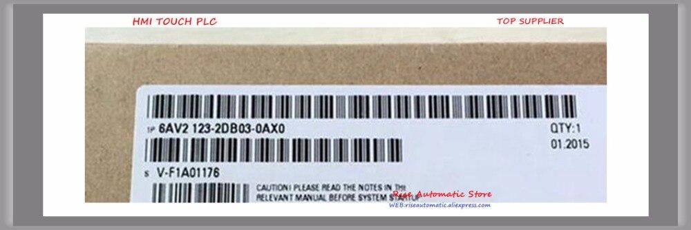 6AV2123-2DB03-0AX0 HMI Nuovo Originale Touch Panel 6AV2 123-2DB03-0AX0 KTP400 di BASE 6AV21232DB030AX0 6AV2 123 2DB03 0AX0