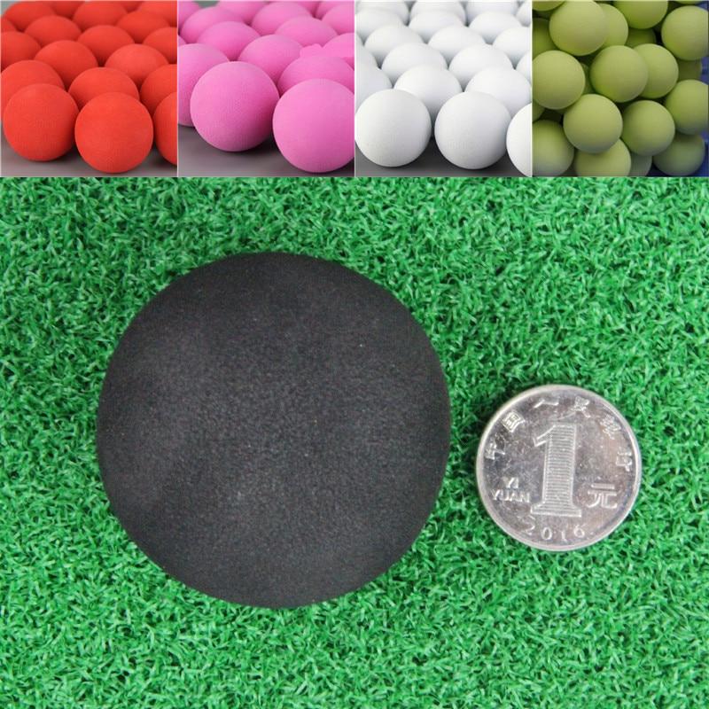 20Pcs 50mm Golf Practice Balls EVA Foam Soft Monochrome Balls For Outdoor Golf Ball For Golf Training Solid Color