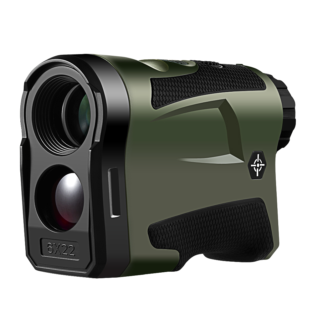 BIJIA 600m 1000m Multifunction 6x22 Laser Range Finder Telescope for Hunting Distance Angle Height Speed Rangefinder