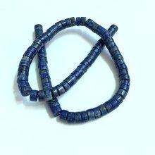 Оптовая продажа 1 Веревка натуральный lapis lzuli 4x8mm бисер