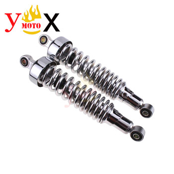 Motorcycle Rear Pair Shock Absorber Suspension For Yamaha DragStar Virago XV250 1988-2012 V-STAR 250 2008-2012 VX125 19-12 VX400
