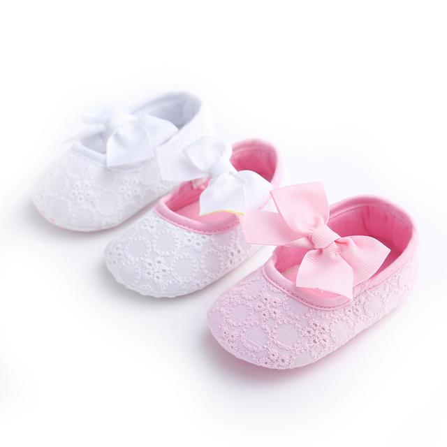 Cuna Del Bebé Zapatos Zapatillas Botines Para Recién Nacidos Ganchillo Zapatos Recién Nacidos Zapatos Del Niño Tela Botines Del Bebé Infantil de Las Muchachas 503166