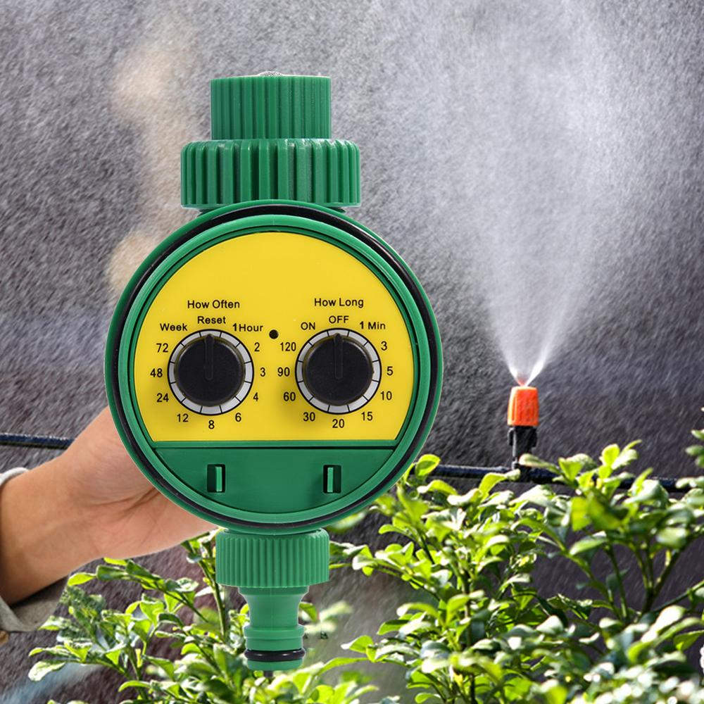 Multi-function Two Dial Automatic Electronic Water Timer Garden Watering System High-quality Sprinkler Controller(China)
