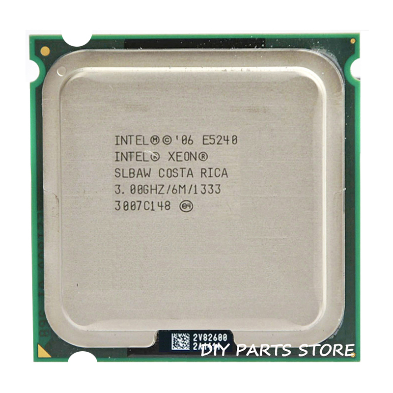 INTEL XONE E5420 CPU INTEL E5420 <font><b>PROCESSOR</b></font> quad core 2.5MHZ LeveL2 12M Work on 775 image
