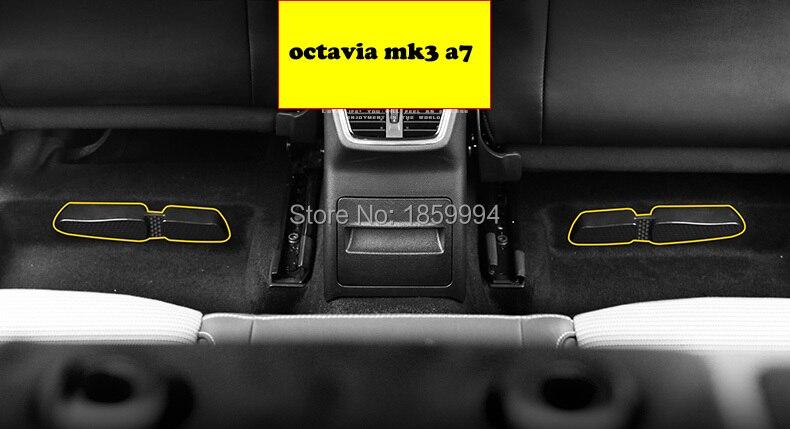 para 2014 2015 2016 2017 2018 skoda mk3 a7 Excelente B8 asiento de - Accesorios de interior de coche