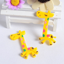 200pcs Fashion Giraffe Shape Earphone Cable Wire Cord Organizer Holder Cable Winder For iphone samsung MP3 Headphone Wire Storag