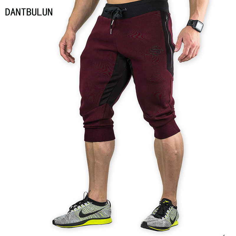 60ae4cb0e68 2017 NEW Summer Brand Mens Jogger Sporting Thin Shorts Men Black Bodybuilding  Short Pants Male Fitness Gyms Shorts for workout