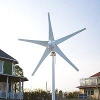 400 w Lage rpm windturbine generator + 12 v/24 V wind generator met Wind/Solar Hybrid Controller (LED Display)
