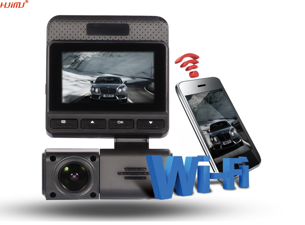 WiFi Car DVR Camera Video Recorder Wireless WiFi APP Manipulation FHD 1080p Novatek 96658 IMX 322 Dash Cam novatek 96655 car dvr camera video recorder full hd 1080p wireless wifi app manipulation imx 322 dash cam registrator black box