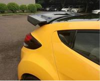 For Hyundai Veloster Carbon Fiber /ABS Car Rear Wing Trunk Lip Spoilers Fits For Hyundai Veloster Turbo Sequence 2011-2016