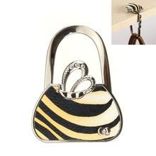 2016 Cute Folding Handbag Purse Bag Hanger Durable Table Hook Hang Holder Bag