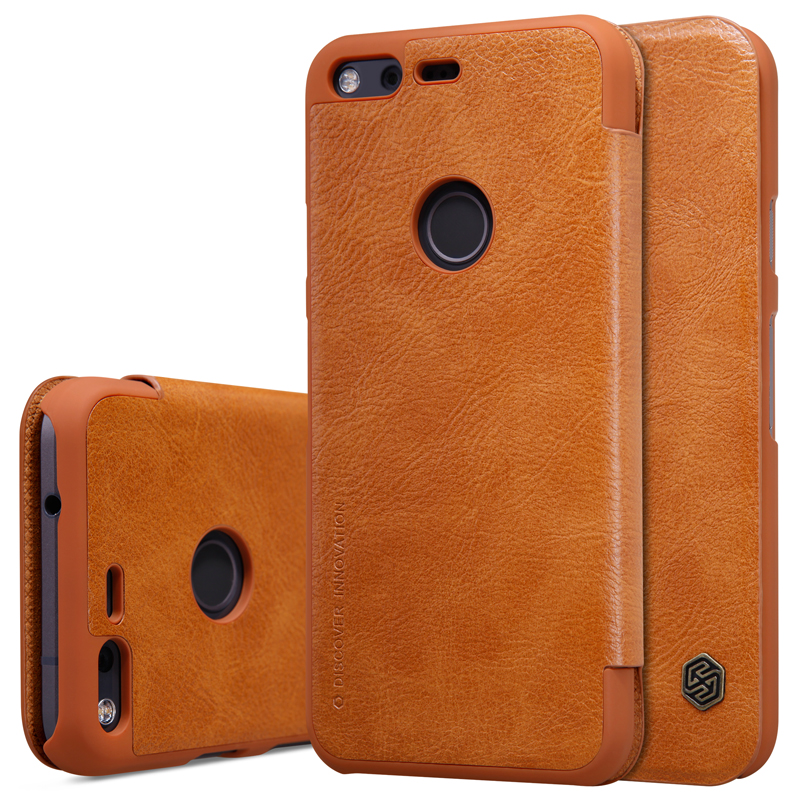 For Google Pixel 5.0Inch Phone Case,Vintage Luxury PU Leather Case For Google Pixel Wallet Flip Cover Phone Bags