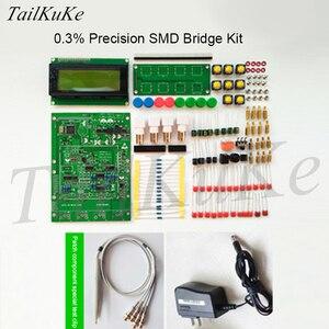 Image 4 - XJW01 LCR testeur de pont numérique Kit ESR