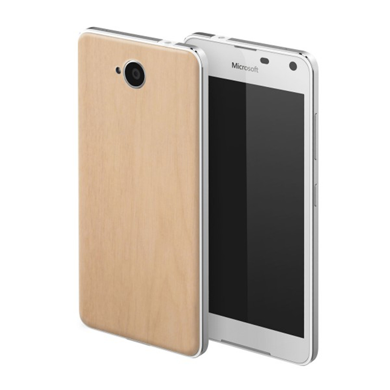Original New Wooden Back Cover For Microsoft Lumia 650 Wood Housing For Nokia Lumia 650 Limited Battery Cover Case