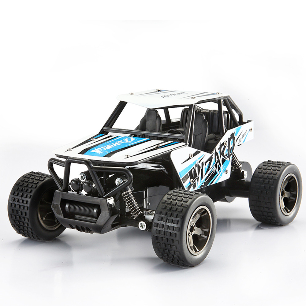 RC Car 1:20 2.4GHz 2WD High Speed RC Racing Car Remote Control Alloy CaseTruck Off-Road Buggy Micro Racing Cars Model Toys