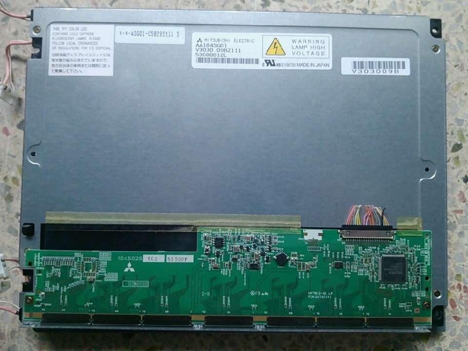 Original A+ Grade 6 Months Warranty AA104VC01  LCD Display   6400 Rgb*480 Svga For  Mitsubishi