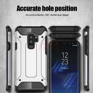 Image 5 - Rubber Armor Case For Samsung Galaxy S8 S9 S10 Plus S7 Edge S5 S6 Note 5 8 9 A6 A7 A8 J8 J4 J6 Prime 2018 S10E Shockproof Cover
