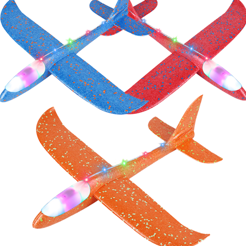 48CM Hand Throw Airplane EPP Foam Glider Launch Glider Plane Model Aircraft Outdoor Fun Toys