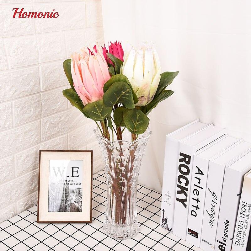 groot kunstbloemen boeket Zuid-Afrika nationale bloem Protea - Feestversiering en feestartikelen - Foto 2