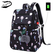 2018 New Women Emoji Shoulder Bag Leisure Best Travel Backpack Female Printing Waterproof School Knapsack mochila Bagpack Pack