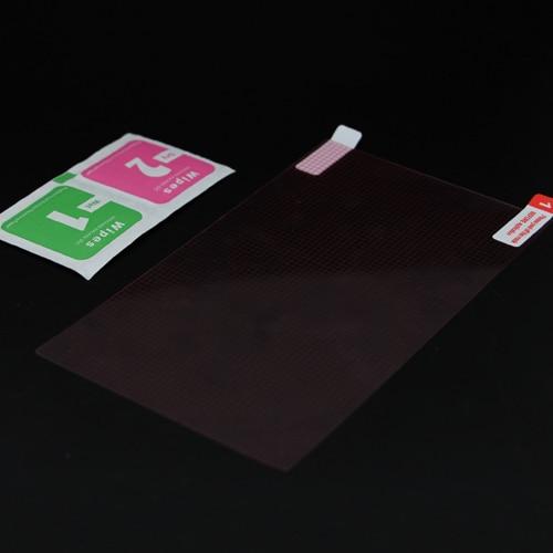 imágenes para 100 unids/lote para celular 7 pulgadas universal ultra thin hd clear protector de pantalla anti arañazos protector de la película protectora
