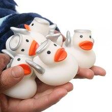 Детские игрушки для ванной ангел утка игрушки для плавания купальный игрушка в виде утки для детей играть Ванна утка подарок для мальчиков и девочек
