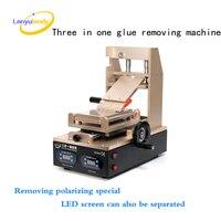 DHL 1pc 110V 220V 3 In 1 Vacuum LCD Screen Separator Preheater OCA Glue Polarizer Remove