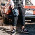 VIISHOW Джинсы Мужчин Slim Fit Эластичный Пояс Джинсы Мужчин Джинсовые Брюки Бренд Одежды мужские Джинсы Брюки Мужчины джинсовые брюки NC1106171