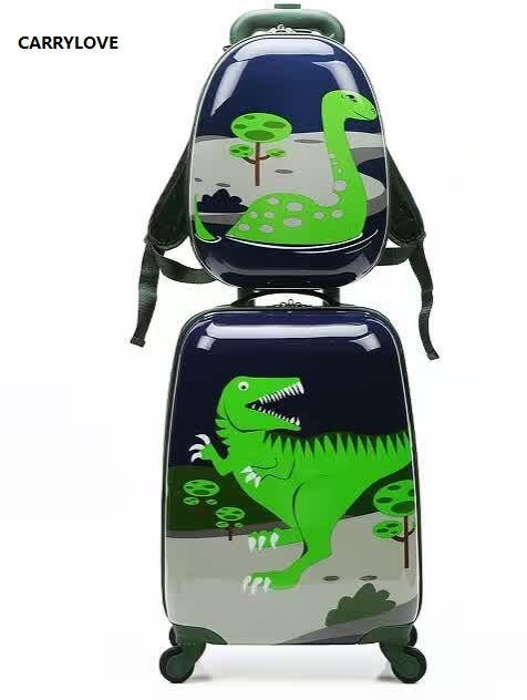 CARRYLOVE cartoon luggage series 18 inch PC Handbag and  Rolling Luggage  Gifts for children