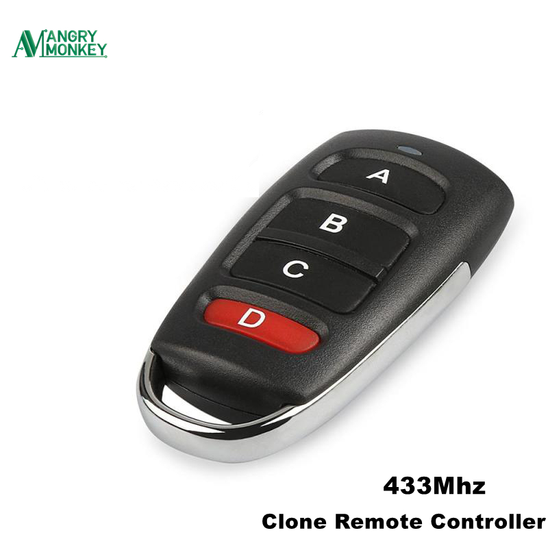 Remote Control Duplicator Wireless Key For Garage Door Cloning Gate 433MHZ LK