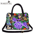 Chinese Embroidery Bags Women National Handmade Vintage Flower Handsbag for Woman Tote Travel Single Shoulder Bag